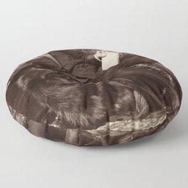 Oscar Wilde Lounging Portrait Floor Pillow
