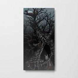 In The Trees Metal Print
