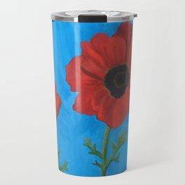 Belgian Poppies Travel Mug