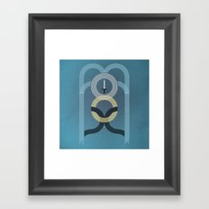 Born to Explore Pt2 Framed Art Print