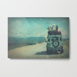 NEVER STOP EXPLORING II SOUTH AMERICA Metal Print