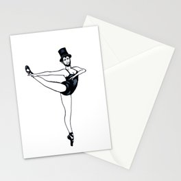 Abraham Lincoln the Ballerina Stationery Cards