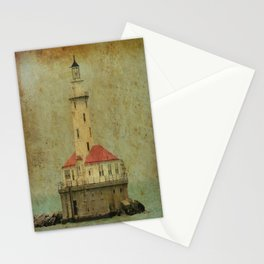 Old and wise light Stationery Cards