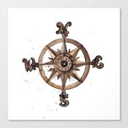 Wheel - Compass Canvas Print
