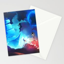 To the Night Sky Stationery Cards