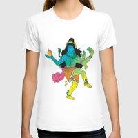 shiva T-shirts featuring Lord Shiva by xDiNKix