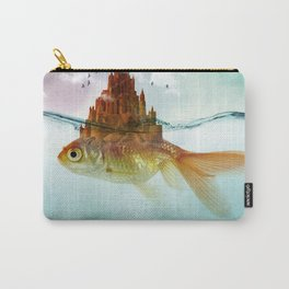 Goldfish Castle Carry-All Pouch