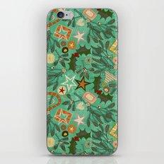 festive berries iPhone & iPod Skin