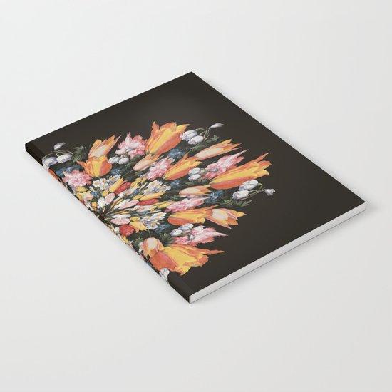 Flemish Floral Mandala 2 Notebook