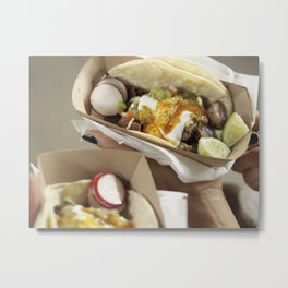 Brooklyn Taco Metal Print