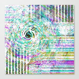 Mix Retro Canvas Print