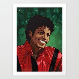 M. Jackson Art Print