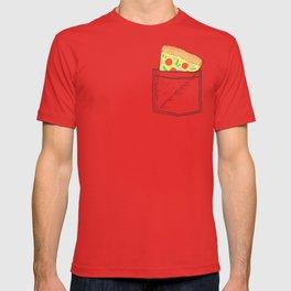 Emergency supply - pocket pizza T-shirt