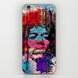 JIMI GOD STREET ART iPhone Skin