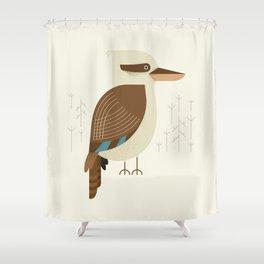 Laughing Kookaburra, Bird of Australia Shower Curtain