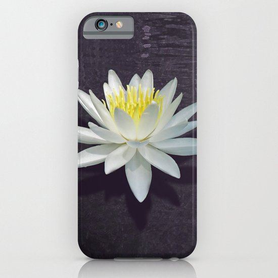 Lily with Purple Ripples iPhone & iPod Case