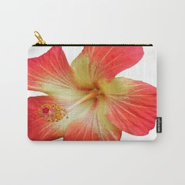 Gorgeous Red And Gold Hawaiian Hibiscus Flower No Text Carry-All Pouch
