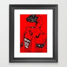 LEONARDO DICAPRIO BY Cd KIRVEN Framed Art Print