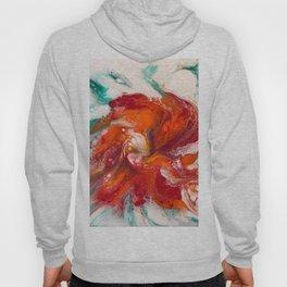 Orange Flower Craze Hoody