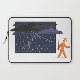 lets see if i can end the storm Laptop Sleeve
