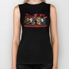Where the Slashers Are (Full Color) Biker Tank