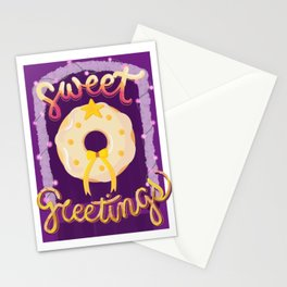 Christmas grEATings: Donut Door Decor Stationery Cards