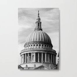 London ... St. Paul's Cathedral Metal Print