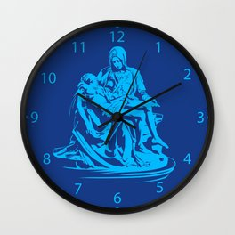 la pieta ,pieta michelangelo , Wall Clock