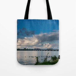 Belle Isle Bridge Tote Bag