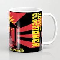 propaganda Mugs featuring Clocktower Propaganda by DGN Graphix