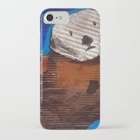 otter iPhone & iPod Cases featuring Otter by Cre8tive Papier