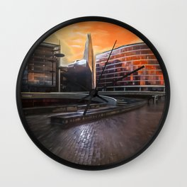 The London Shard Wall Clock