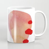 blur Mugs featuring Blur by angela deal meanix