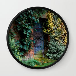 Lewis Carroll's Garden Wall Clock