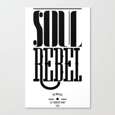 soul rebel Canvas Print