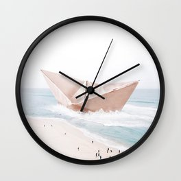 Let's sail away Wall Clock