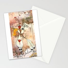 The thread of love Stationery Cards
