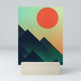 World to see Mini Art Print