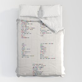 Bloc Party Discography - Music in Colour Code Comforters