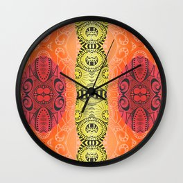 Fire and Fire Wall Clock