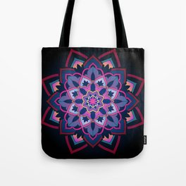 mandala shade of purple Tote Bag