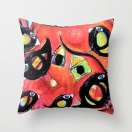 Avril Throw Pillow