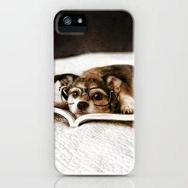 Nerd Dog iPhone Case