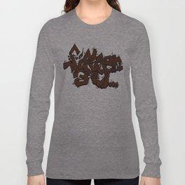 Walnut Stamp Graffiti  Long Sleeve T-shirt