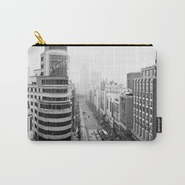 Gran Via in Madrid Carry-All Pouch