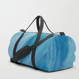 Watercolor Wave Duffle Bag