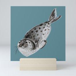 Common seal Mini Art Print