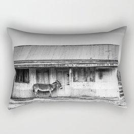 Lonely Donkey Rectangular Pillow