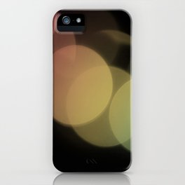 Rainbow Bokeh iPhone Case