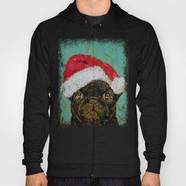 Santa Pug Hoody